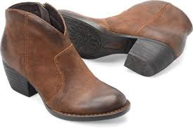 womens boots distressed leather born michel in tobacco distressed born womens boots on shoeline com