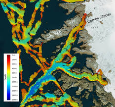 750 Meters To Feet by Greenland U0027s Undercut Glaciers Melting Faster Than Thought Nasa