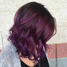 hair highlights bottom 40 versatile ideas of purple highlights for blonde brown and red hair