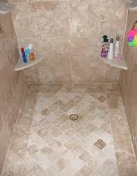 Bathroom Shower Floor Ideas Tiles For Shower Floor Ideas Cozy Bathroom With Subway Tile Shower