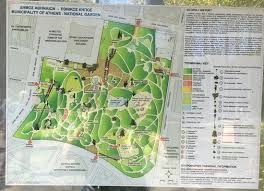 map and layout of the national gardens picture of national