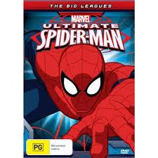 ultimate spider man big leagues dvd jb fi
