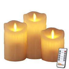 best 25 flameless candles with timer ideas on solar