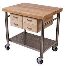 John Boos Kitchen Islands by John Boos Cucina Kitchen Microwave Carts And Stands Storage With