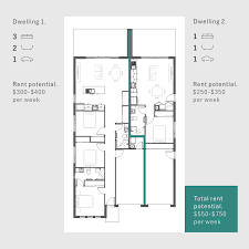 delightful income property floor plans 2 basement traditional