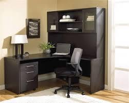espresso desk with hutch modern espresso l shaped desk with hutch mobile pedestal mobile