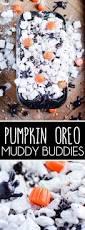 pumpkin oreo muddy buddies something swanky