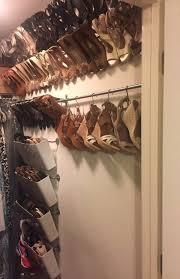 best 25 hanging shoe rack ideas on pinterest hanging shoes