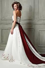 my dream wedding dress simple with a train a bright splash of