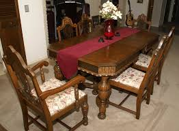 oak dining room table and chairs antique dining room furniture 1920 table round antique dining