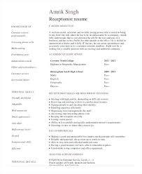 receptionist resume templates receptionist resume templates medicina bg info