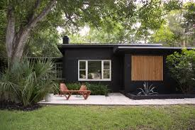 Bi Level Home Exterior Makeover by Sherwin Williams U0027 Black Magic Sw 6991 Paint Black House Garden