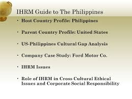 ford motor company human resources international human resource management guide to the philippines