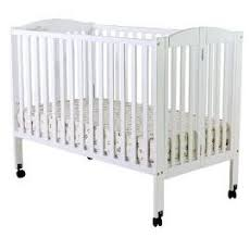 100 off dream on me full size 2 in 1 folding stationary side crib