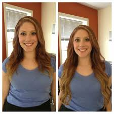 layered extensions extensions halo couture before and after artisan hair design color