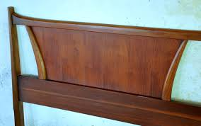 Mid Century Secretary Desk by Select Modern Mid Century Modern King Headboard