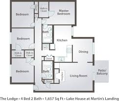 Master Bedroom Bath Floor Plans 4 Bedroom House Designs Bath Floor Plans One Picture The Lodge