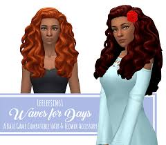 the sims 4 natural curly hair gonewiththewhispers
