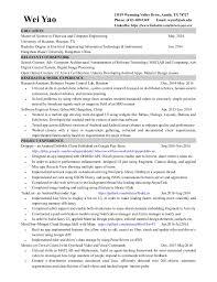 software developer resume software resume template junior