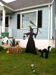 outdoor halloween witch decorations exquisite outdoor halloween decoration ideas festival around the