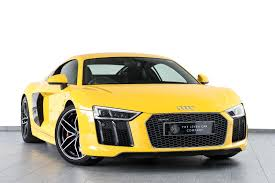 Audi R8 Yellow 2016 - used 2016 audi r8 5 2 fsi v10 quattro 2dr s tronic for sale in