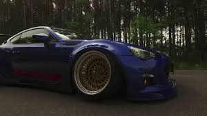widebody subaru brz bagged wide body subaru brz youtube