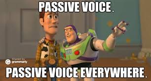 Grammarly Memes - passive voice grammarly blog
