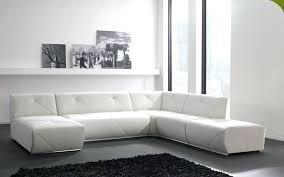 canapé blanc design canape cuir blanc design salon design en canape dangle relax cuir