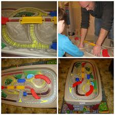 train and track table activity toys direct train table review edspire