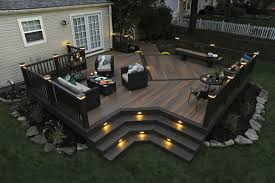 backyard deck designs prodigious plans ideas 25 cofisem co