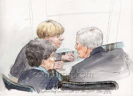 trial of a mass murderer courtartist