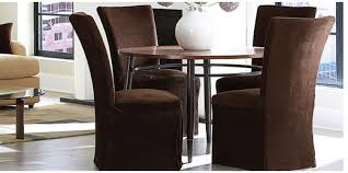 Cotton Dining Chair Covers Impressive Dining Room Chair Slipcovers 1000 Ideas About Dining