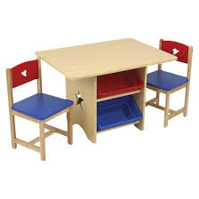 kids table and chairs with storage star table set with primary bins 119 99 at target com book lover