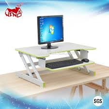 Computer Desk Height by Height Adjustable Wooden Table Height Adjustable Wooden Table