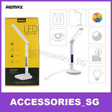 qoo10 remax led usb desk lamp desk light with moodlight and