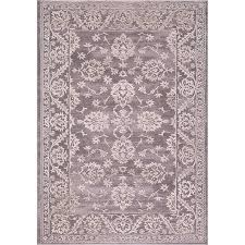Concord Global Area Rugs Traditional Rug Thema Anatolia Beige Gray Traditional Rug