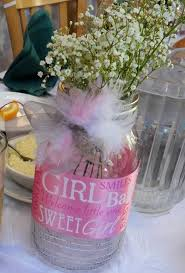 jar baby shower ideas glamorous baby shower vases centerpieces 47 for free baby shower