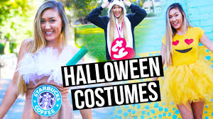 diy halloween costumes for teens emoji starbucks beanie baby