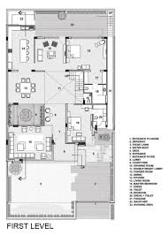 floor plans with courtyards a sleek modern home with indian sensibilities and an interior
