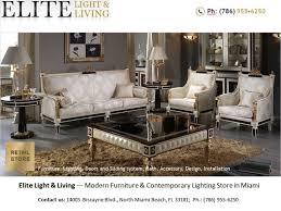 Furniture Stores Modern by Modern Furniture Store In Miami U2014 Elite Light U0026 Living