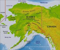 Porcupine Mountains State Park Map by Physical Map Of Alaska