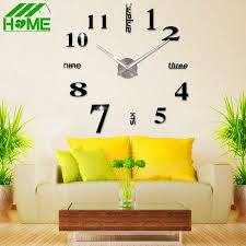 Decorative Wall Clocks For Living Room Popular Sublimation Clock Buy Cheap Sublimation Clock Lots From