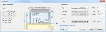 revit tutorial view range autodesk revit structure