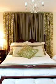 Houzz Bedrooms Traditional - drapes behind bed with my houzz bedroom traditional and