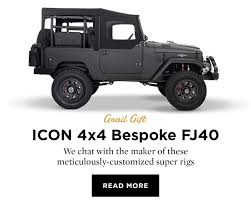 icon 4x4 fj40 huckberry cc johnny cash milled