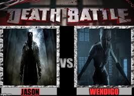Jason Voorhees Meme - jason voorhees vs wendigo by dragongladi8or on deviantart