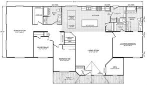 Triple Wide Floor Plans Waverly Crest Fleetwood Manufactured Homes Mobile Homes