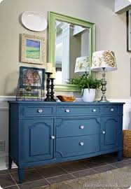 fabulous folk art i love the color of the buffet diy home