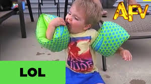 Baby Eating Sand Meme - little boy with floaties tries to eat cookie afv youtube