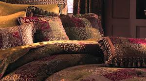 croscill galleria red bedding collection youtube